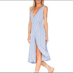Privacy Please // Wilson Striped Wrap Dress